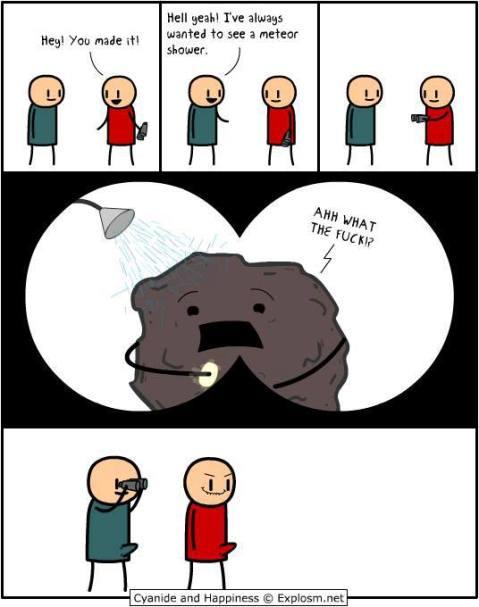 meteorshowercomic