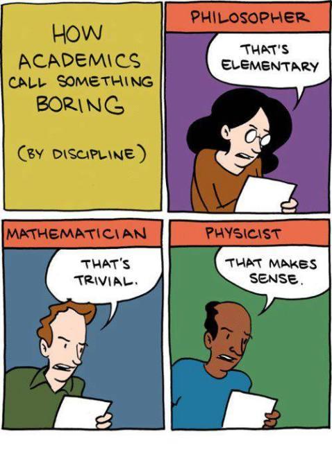 boring academic
