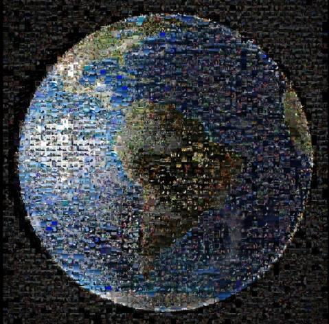cassini mosaic