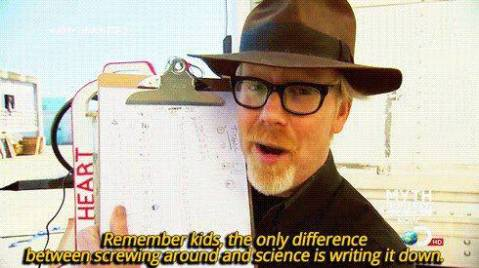 mythbusters science