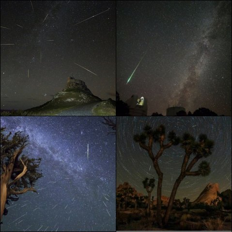 perseids highlights