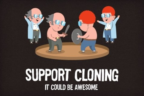 support cloning