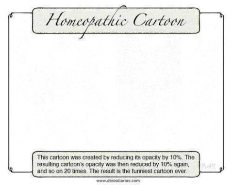 homeopathic cartoon