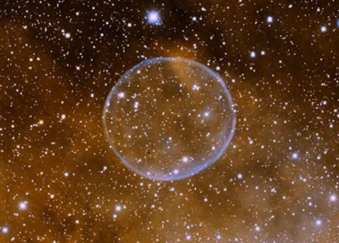 soap bubble nebula