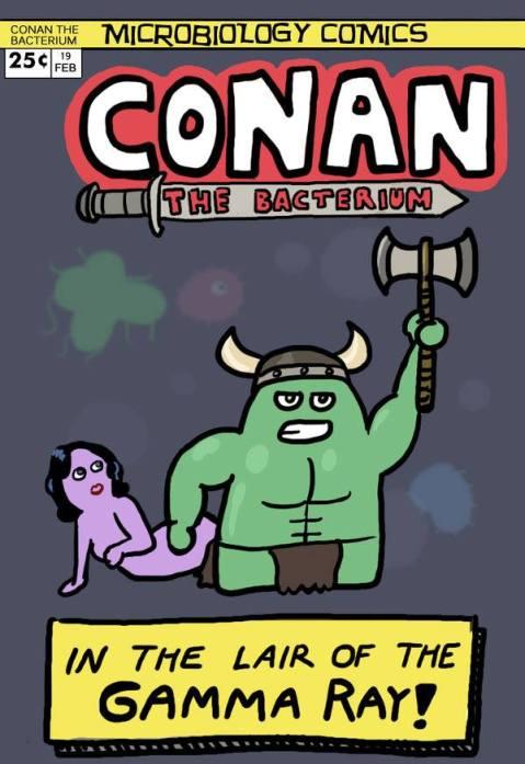 conan the bacterium